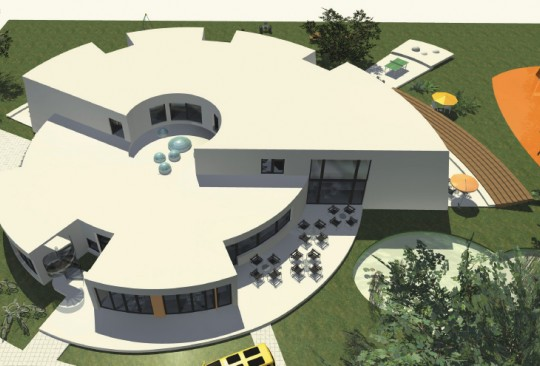 9 Eine Montessori Grundschule in moderner Architektur