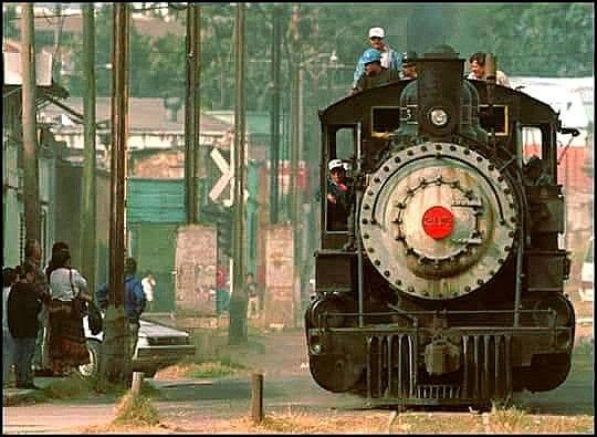 El ferrocarril en sus últimos viajes