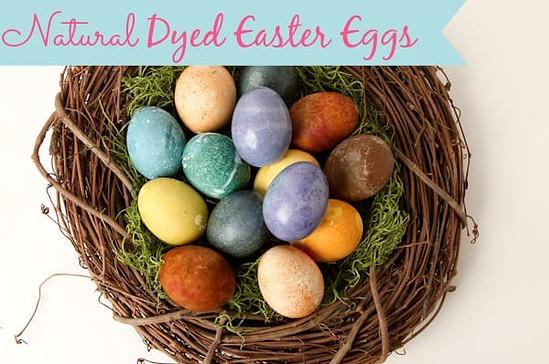 JustShortOfCrazy~Natural Dyed Easter Eggs https://whynotmom.com.justshortofcrazy.com/natural-dyed-easter-eggs/