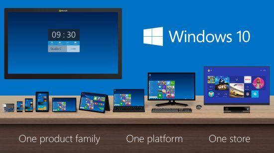 Windows 10 uitvoeringen