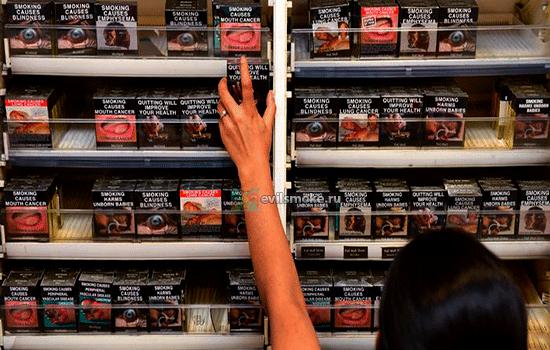 Фото - Покупают сигареты