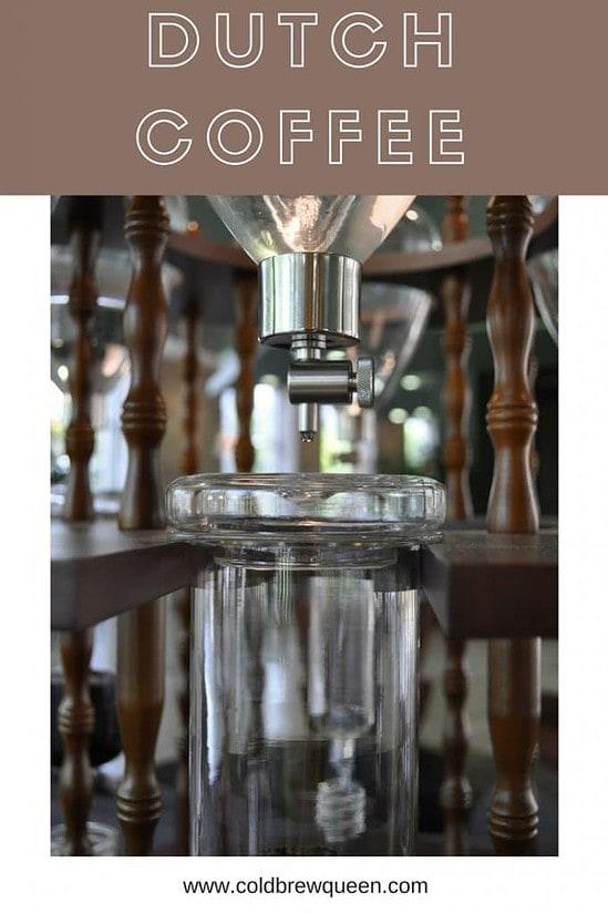 dutch coffee maker ice drip