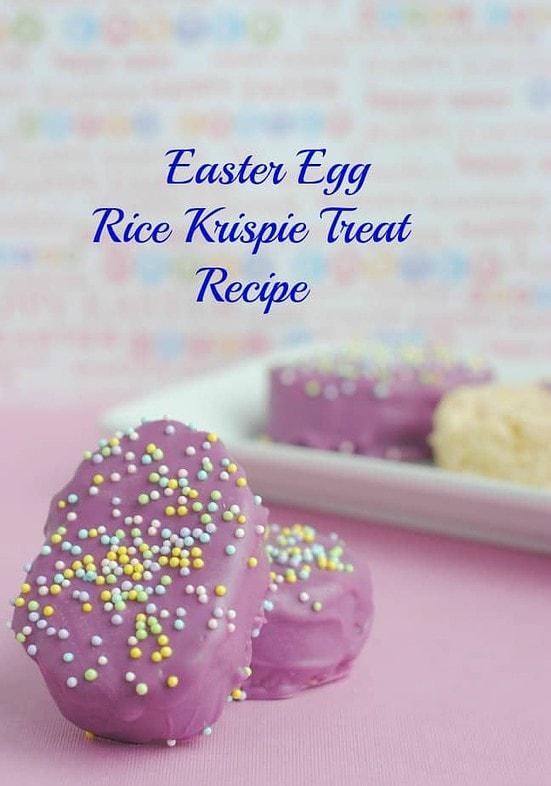 Generations of Savings Easter Egg Rice Krispie Treat Recipe https://whynotmom.comgenerationsofsavings.com/2014/02/easter-egg-rice-krispie-treats-recipe.html