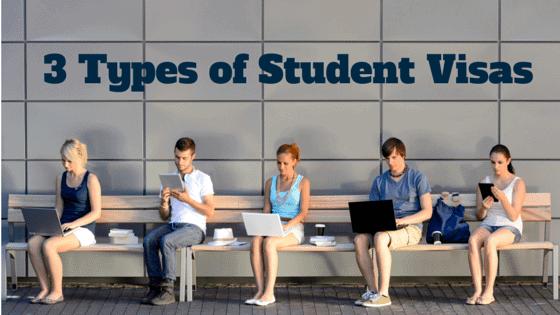 Types of Student Visas