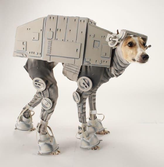 Dog Halloween Star Wars AT-AT Costume