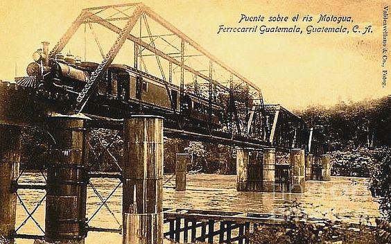 Ferrocarril del Norte: puente sobre el Motagua