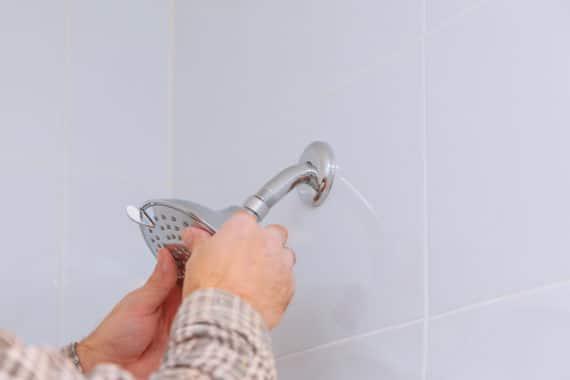 renovation de la plomberie de la douche
