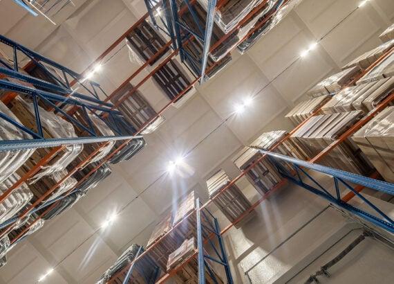 освещение склада Sanpol