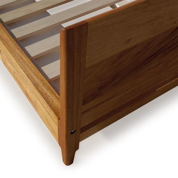 mahogany storage bed