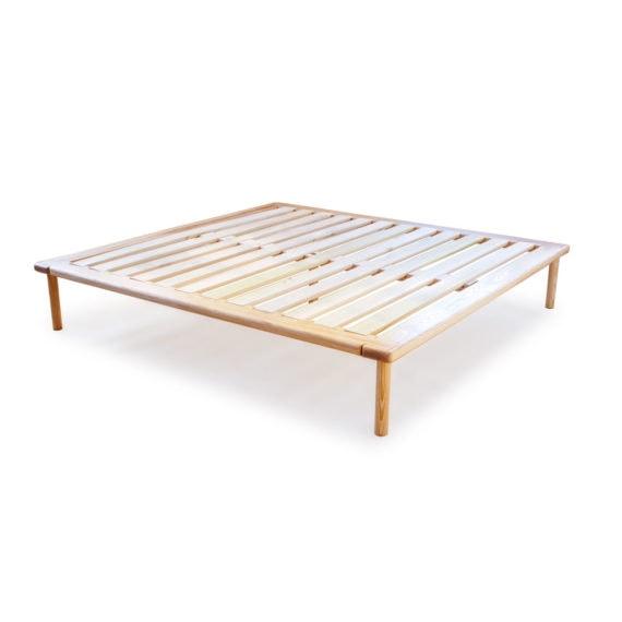 ash platform bed no headboard