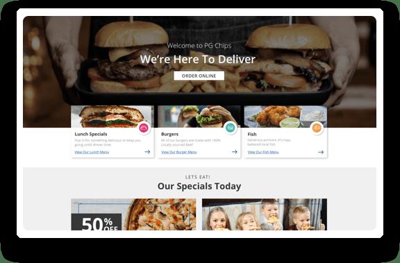 Ordú Online Managed Food Ordering for Restaurants Fast food takeaways and pub food table or deliver
