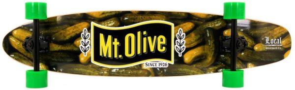 Mt. Olive Pickle Skateboard Graphics