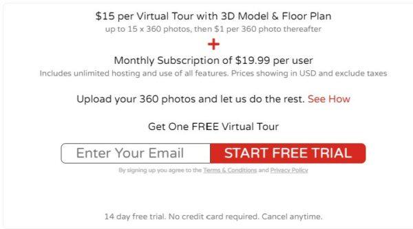 realizzare tour virtuali