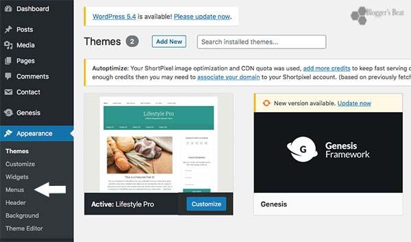 Add Nofollow Navigation Links In WordPress