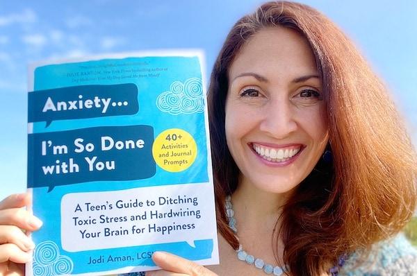 Teen Anxiety BOOK by Jodi Aman WP