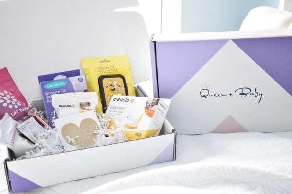 Queen and Baby Box