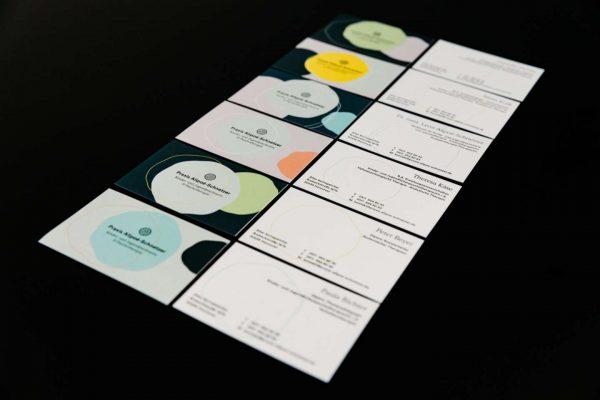 Corporate Design Praxis Alipoe-Schnetzer