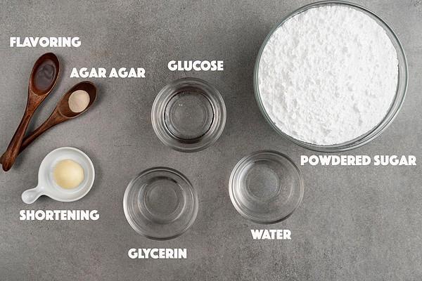 Vegan Fondant Ingredients