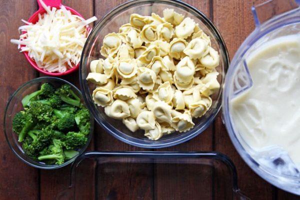 Baked Tortellini Preparation