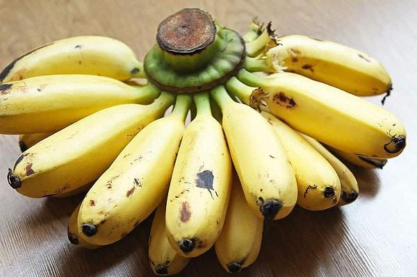 Bunch of Thai Mini Bananas