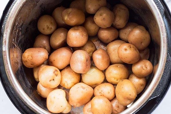 Pressure Cooked Potatoes