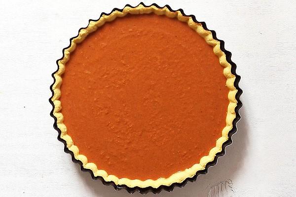 Unbaked Paleo Pumpkin Pie