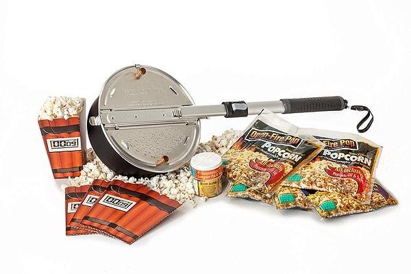 Whirley Pop Open Fire Popcorn Popper