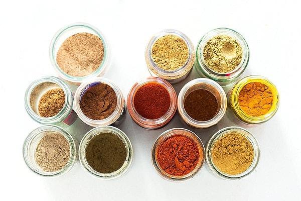 Jars of Tandoori Masala Ingredients