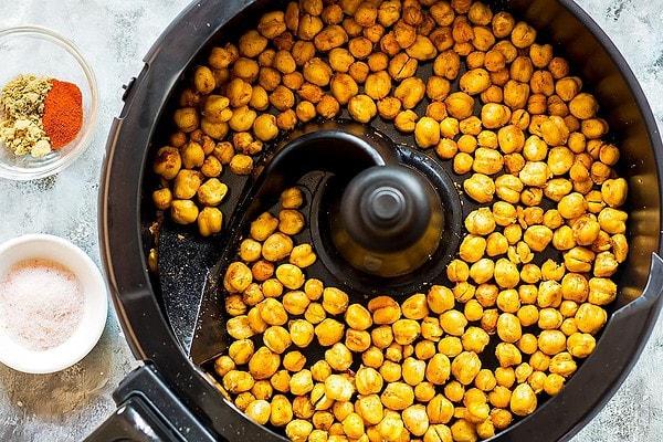 Crunchy Chickpeas in Air Fryer