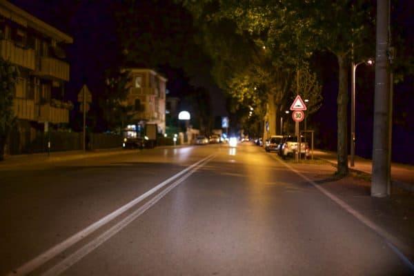 Deserted road Padua