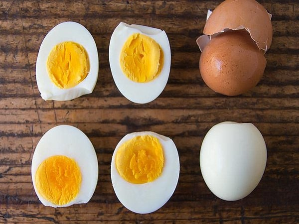 Instant Pot Hard Boiled Eggs Peeled