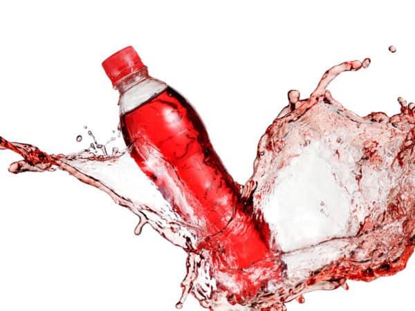 sports drink spills