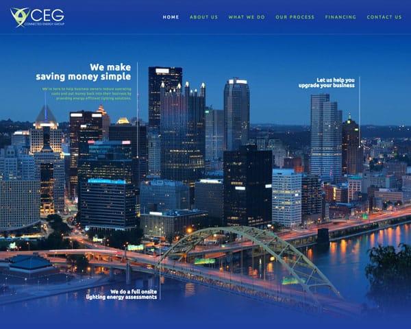 CEG Website Homepage