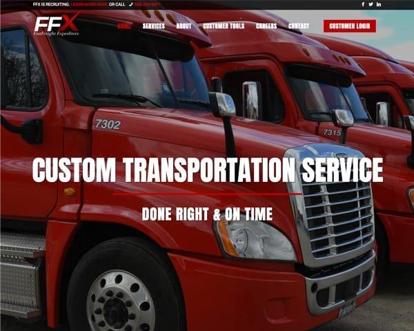 FFX website homepage slide