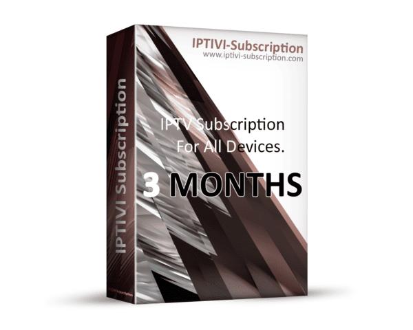 IPTV Subscription Provider - IPTIVI Subscription - 12 Months - IPTV PACK