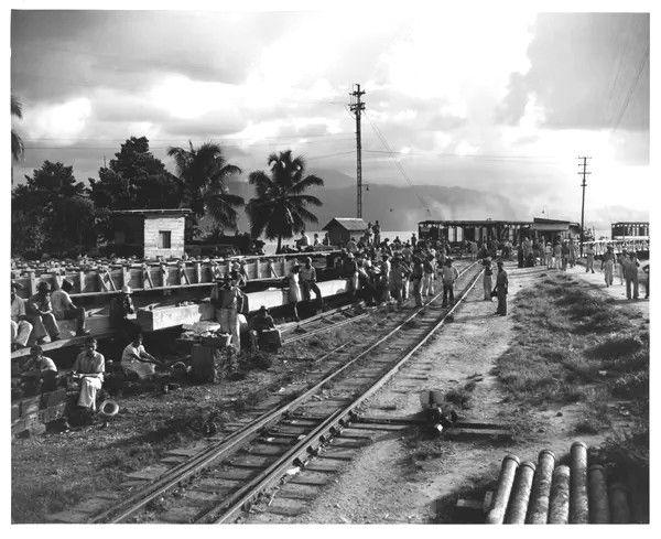 Trabajadores de UFCO en 1950
