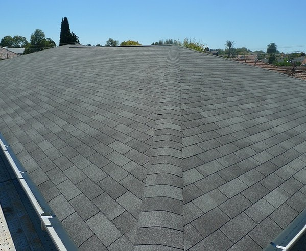 IKO Marathon Dual Grey with low profile ridge vent - How to install a shingle roof