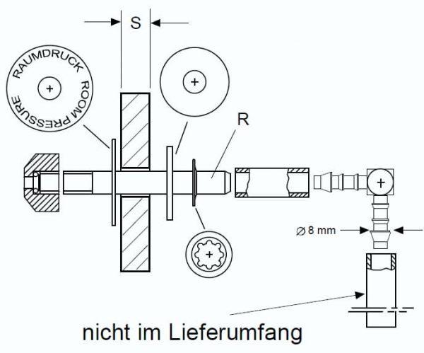 Raumdrucksonde - RDS