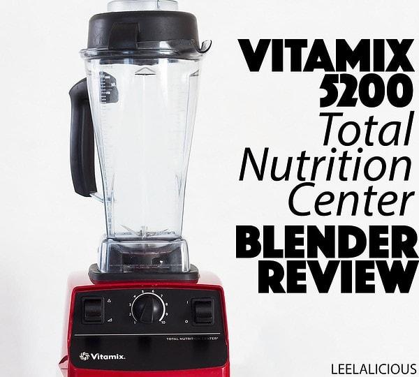 Red Vitamix 5200 Blender Review