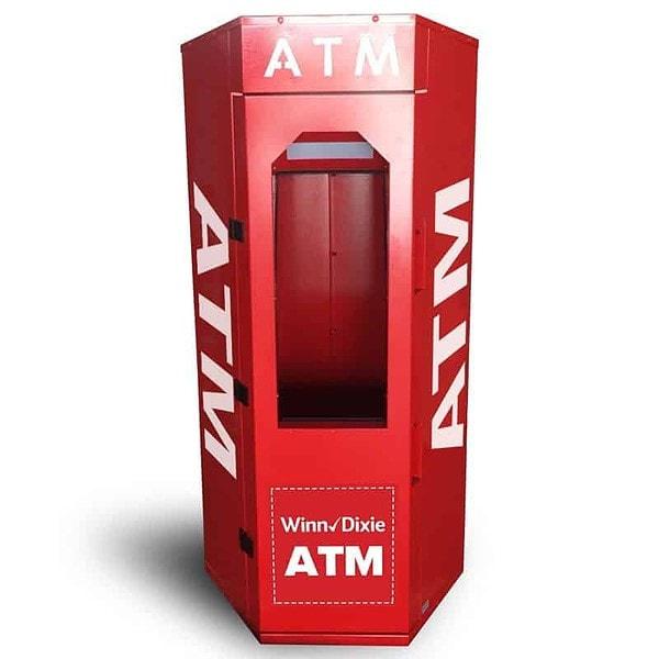 ATM Kiosk Enclosure Spot Graphics for Large Kiosks