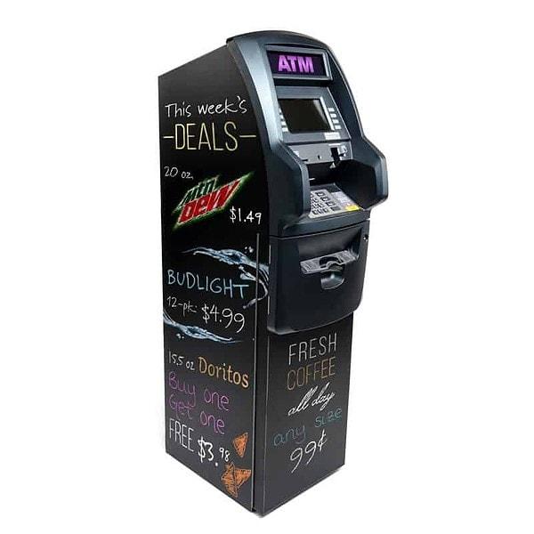 Chalkboard ATM Wrap