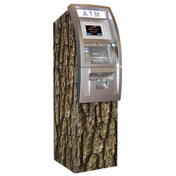 Woody ATM Wrap Bark