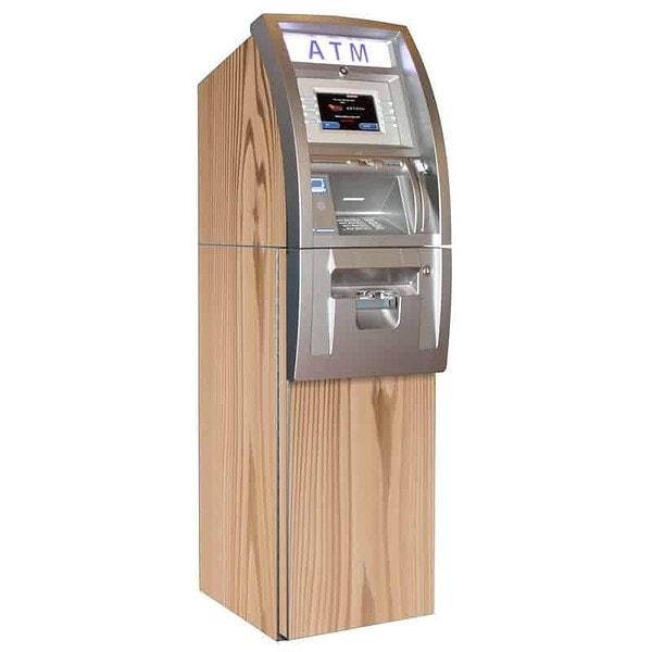 Woody ATM Wrap Cedar