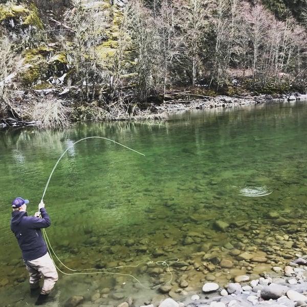 March fishing BC