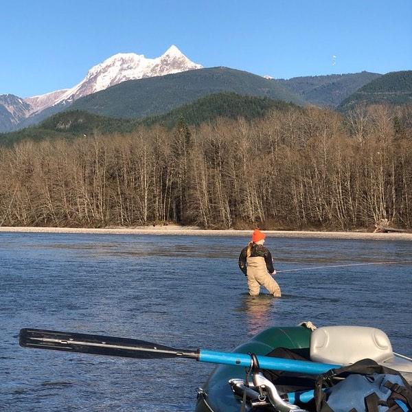 Fall fly fishing Squamish BC