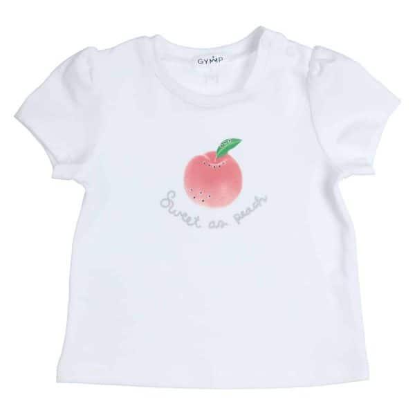 GYMP T-shirt Sweet as peach