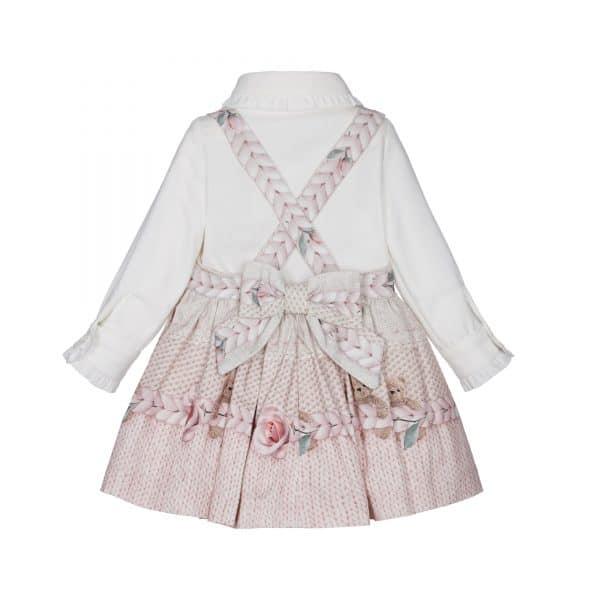 Lapin House roze jurk met blouse
