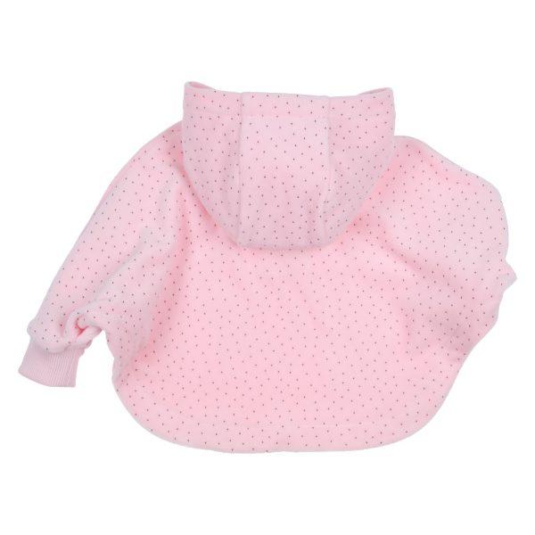 Warme roze poncho Gymp