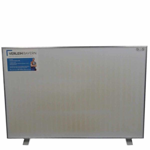 klima center infrarot heiz panel mieten 02 600x600 - Infrarot Heizplatte 580 mieten
