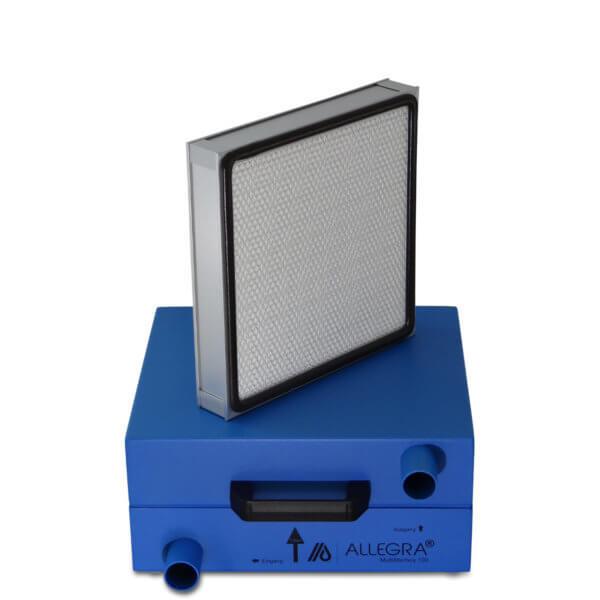 HEPA Filter Schalldaempfer Daemmschicht 002 600x600 - HEPA - Filter Box / Schalldämpfer für Seitenkanalverdichter 1,1 Kw